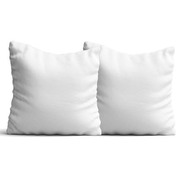 Cuscino Con Federa Bicolore Poliestere 40x40 Cm Per La Sublimazione