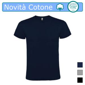 T-SHIRT COTONE NOVITA BLUNAVY ATOMIC UOMO COLOR TARGET