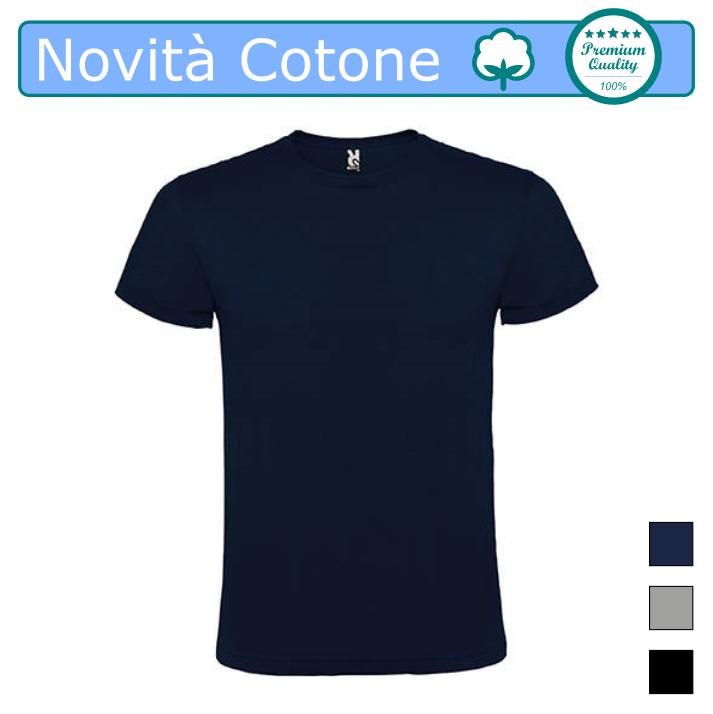 T Shirt Uomo Cotone 100%