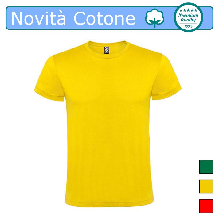 T Shirt Uomo 100% Cotone (Colori Assortiti)