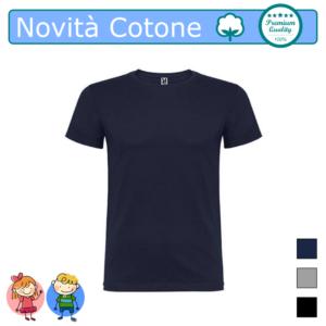 T-SHIRT NOVITA COTONE BAMBINI COLORI 1 COLOR TARGET