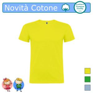 T-SHIRT NOVITA COTONE BAMBINI COLORI 2 COLOR TARGET