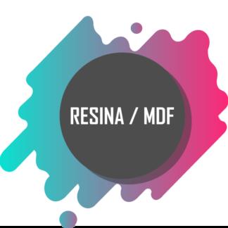 Resina e MDF